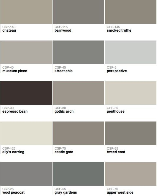 129 best images about revere pewter on pinterest for Popular behr neutral paint colors