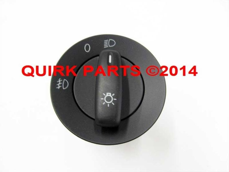 2006-2010 VW Volkswagen Jetta & 2009 Jetta Sportwagon Headlight Switch OEM NEW #Volkswagen