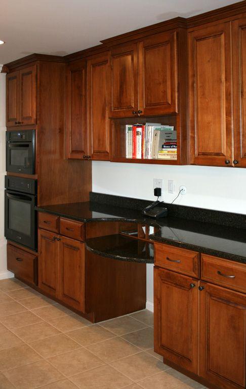 kitchen desk for the home pinterest. Black Bedroom Furniture Sets. Home Design Ideas