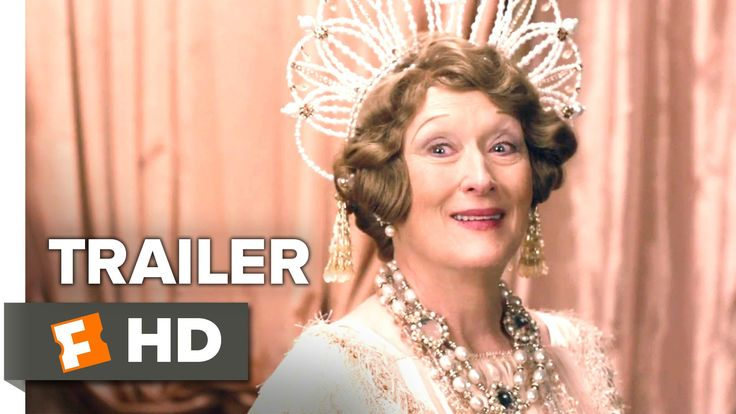 #FlorenceFosterJenkins US Trailer #1: Watch Meryl Streep sing off-key,,, (REALLY off-key)