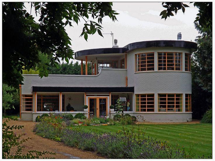 Art Deco House Cambridge
