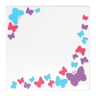 Kirklands - Item #: 130105 Pink & Purple Butterflies Decorative Mirror
