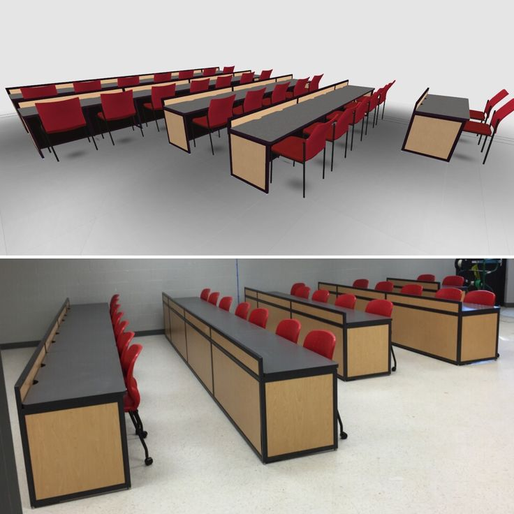 This Image Shows A Computer Lab Furniture Design For Watauga Elem School In  TN Go From