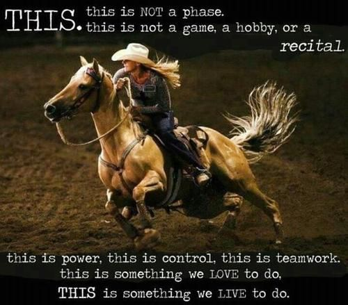 This goes out to every cowgirl, cowboy, equestrian out there. Stay Strong and Ride On!!