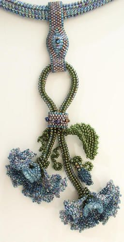 Sweet Pea Necklace ~ Beading Instructions for $8.00 at www.lindarichmond...