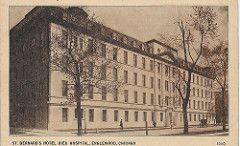 St. Bernard's Hotel Dieu Hospital. Englewood, Chicago IL. Hyde Park M