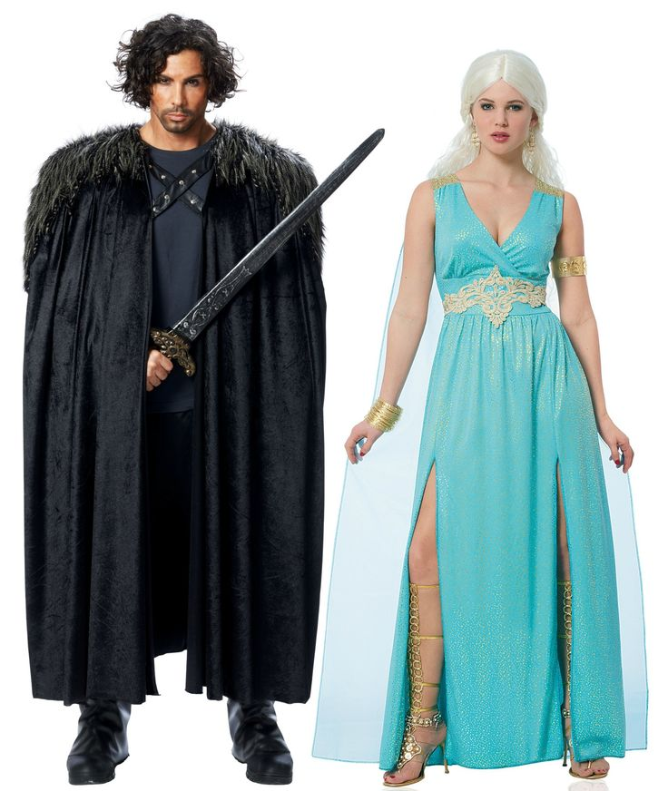 game of thrones couples halloween costumes