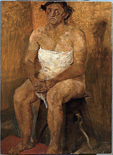 Fausto Pirandello - Nudo