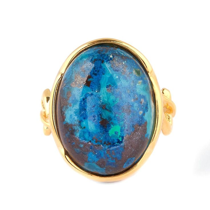 A delightful Pendant from the Sarah Bennett Collection set into Sterling Silver, featuring 17.41cts of captivating Chrysocolla from Congo.
