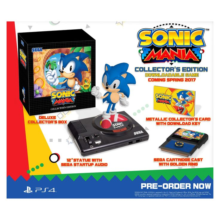 Sonic Mania Collector's Edition PlayStation 4
