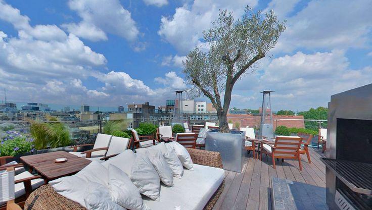Boundary rooftop bar, Shoreditch