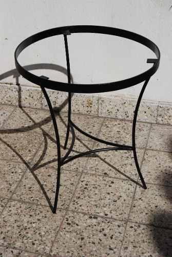 Mesas de hierro para mosaiquismo o venecitas 160 vicente - Mesa de hierro ...