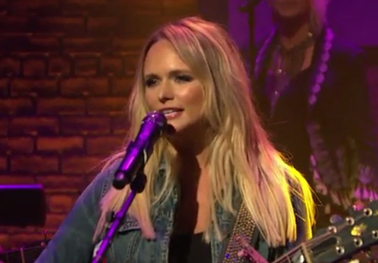 """Last month, superstar country-music ass-kicker Miranda Lambert released her great double album The Weight Of These Wings, and she also performed its massive-on-country-radio single """"Vice"""" on The Tonight Show. Last night, she appeared an hour later on NBC television, singing maybe her album's best song, the sly and sassy """"We Should Be Friends,"""" on Late Night With Seth Meyers. She wore a jacket with fringe so long that it almost looked like her superhero outfit, which is more than enough to…"""
