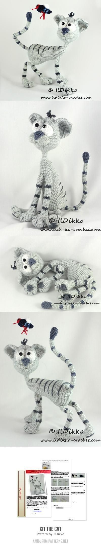 Kit The Cat Amigurumi Pattern