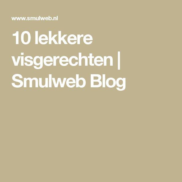 10 lekkere visgerechten   Smulweb Blog