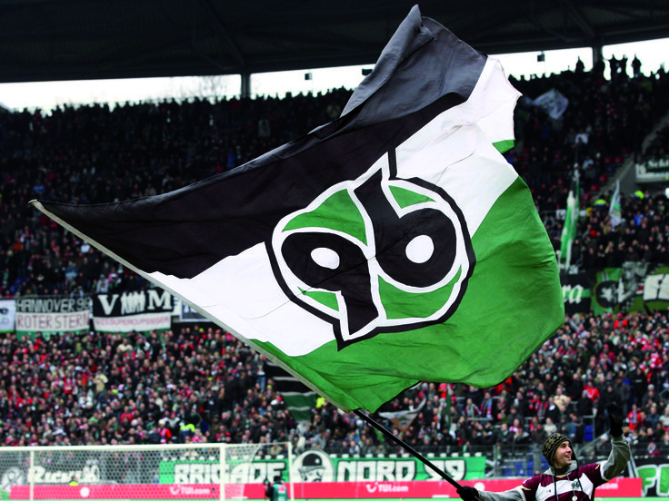 @Hannover96 flagge #9ine