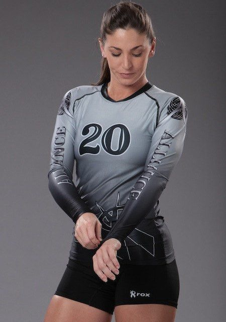 Fade Women's Sublimated Jersey volleyball Voleibol
