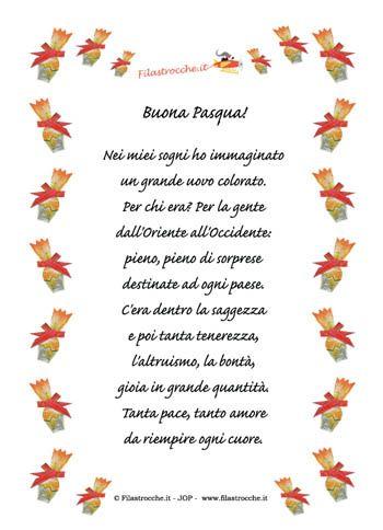 Le poesie in cornice dedicate alla Pasqua!   http://www.filastrocche.it/creiamo/poesie_in_cornice_pasqua.asp