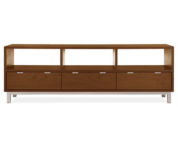 Room & Board - Copenhagen 73x18 25h Open Top Media Console