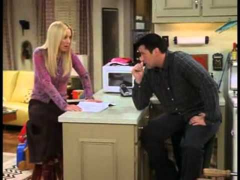 Joey tries to learn French