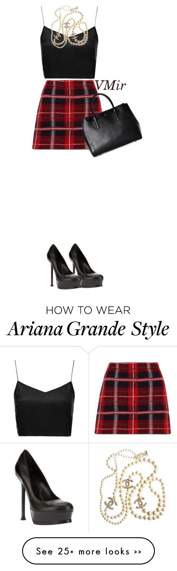 """Ariana Grande Style"" by vmirovski on Polyvore"