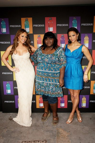 Mariah Carey Photos - (Left to Right) Actresses Mariah Carey, Gabourey Sidibe and Paula Patton attend the Precious Luncheon held at the La Plage - La Croisette during the 62nd International Cannes Film Festival on May 15, 2009 in Cannes, France.  (Photo by Getty Images/Getty Images) * Local Caption * Mariah Carey;Gabourey Sidibe;Paula Patton - Precious Luncheon - 2009 Cannes Film Festival