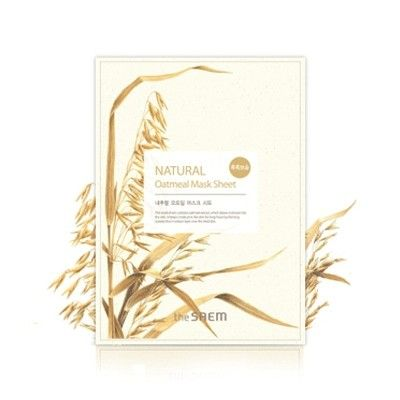 The Saem - Natural Oatmeal Mask Sheet