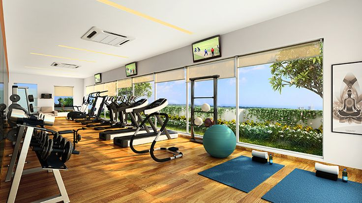Tone up your muscles to lead a healthy life. A gym designed exclusively at Ahuja O2, Sion. Know More: bit.ly/1QX5LIU