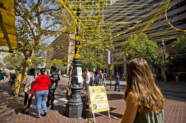 Knotty Sidewalk! – Market Street Prototyping Festival