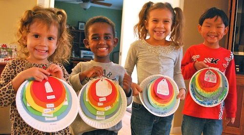 This is an easy project that kids can make to help them learn how they and their community fit into the wider world.