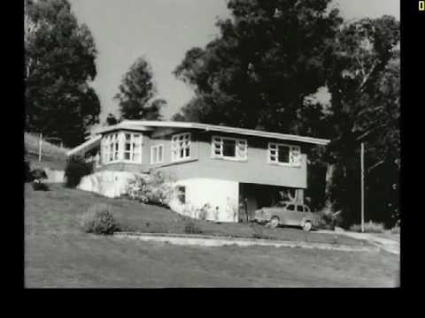 1964 Gisborne New Zealand Wonderful vintage film of Gisborne