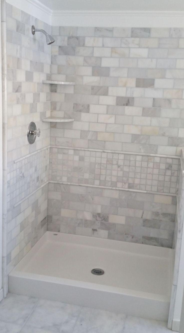 Best 25+ Tile shower pan ideas on Pinterest | How to tile ...