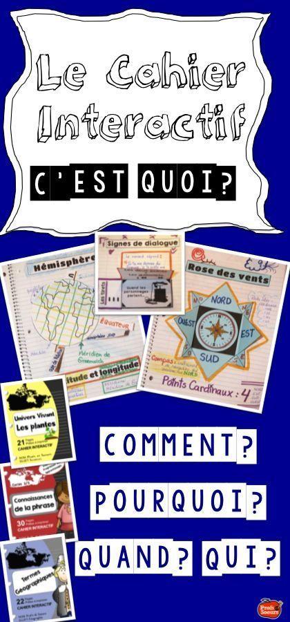 C Est Quoi Ca Un Cahier Interactif Apprendre L Anglais Facilement