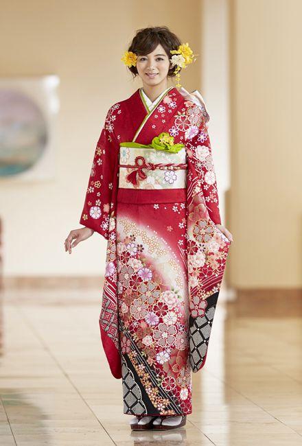 NO.1402 正絹 京友禅|成人式の振袖販売、振袖レンタルの京都きもの友禅