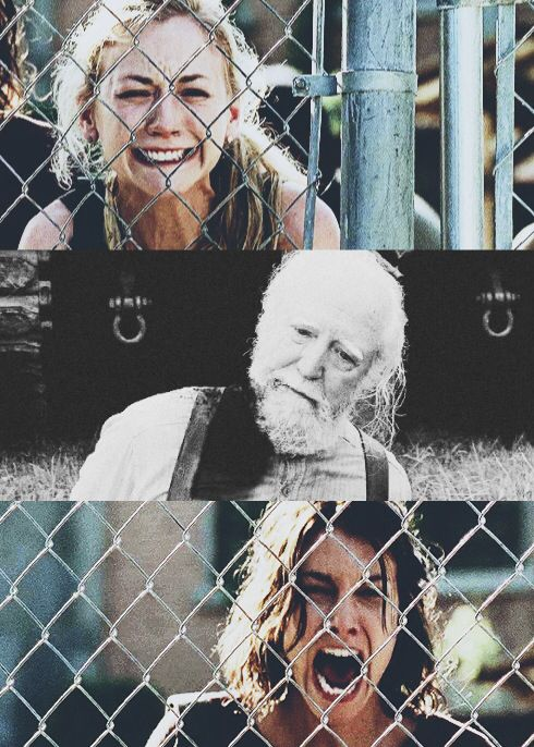 Hershel's death. It wasn't really Hershel dying that made me cry, it was his two daughter's screams.