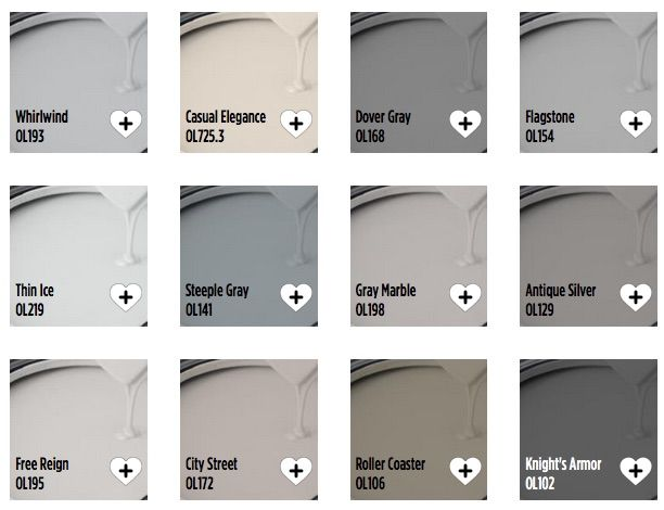 Olympic Popular Grays https://www.olympic.com/colors/popular-paint-colors/popular-gray-paint-colors