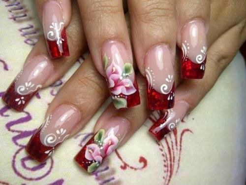 WOW!!!    20 Nails Acrylic Designs Idea And Styles
