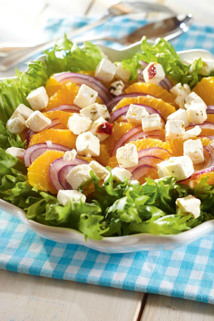 Appelsiini-fetasalaatti | K-ruoka #sitrushedelmät