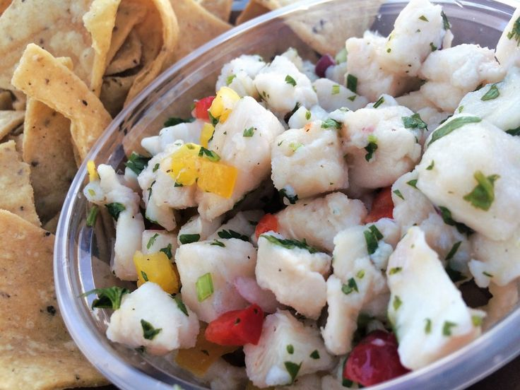 Peruvian ceviche from Bear Flag