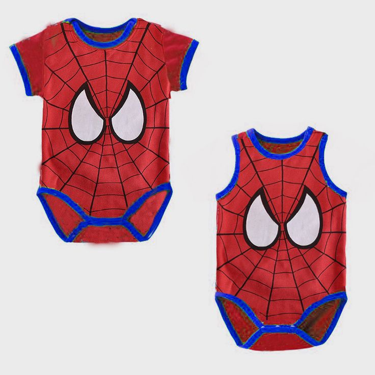 Spiderman Bebe bodysuits Sleeve Baby Clothes Superhero Toddler Coverall Hot Sale