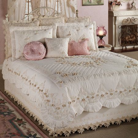 Tranquil Garden Quilt Bedding Home Style Shabby