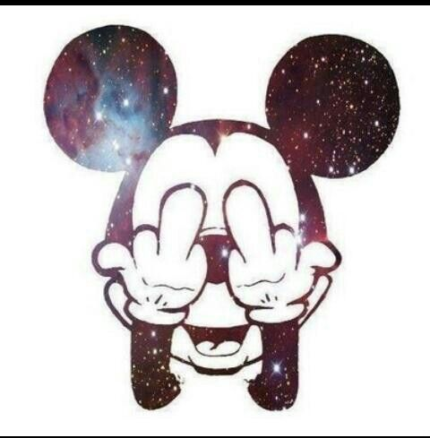 Mickey Mouse Galaxy