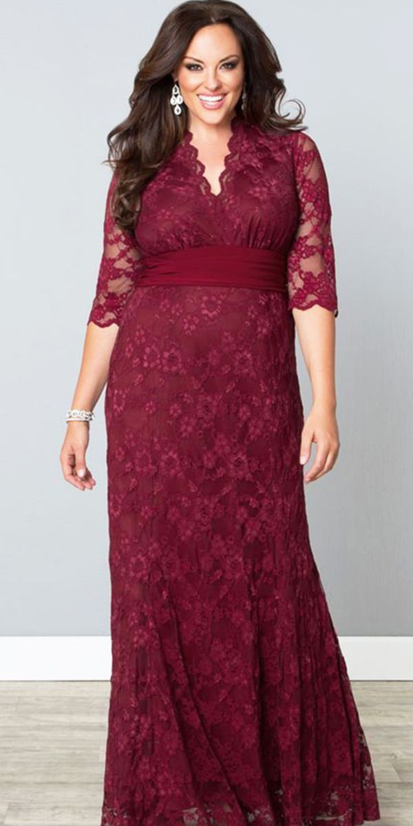 30ec4e4ee7 12 Stunning Plus Size Mother Of The Bride Dresses ❤ plus size mother of the