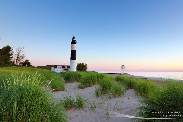 Summer Evening at Big Sable Point Lighthouse, photo by Craig Sterken Photography This weekend is the 2nd Annual Michigan Lighthouse Festival featuring Big Sable Point Lighthouse's 150th Anniv…