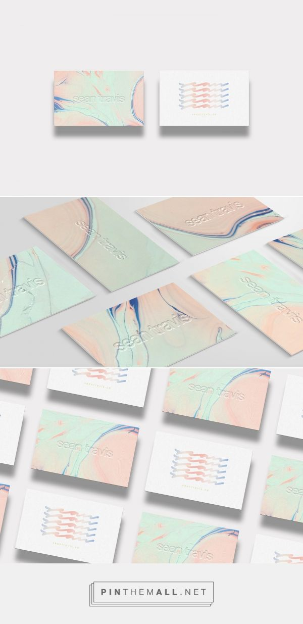 Sean Travis Personal Business Card Design | Fivestar Branding Agency – Design and Branding Agency & Curated Inspiration Gallery