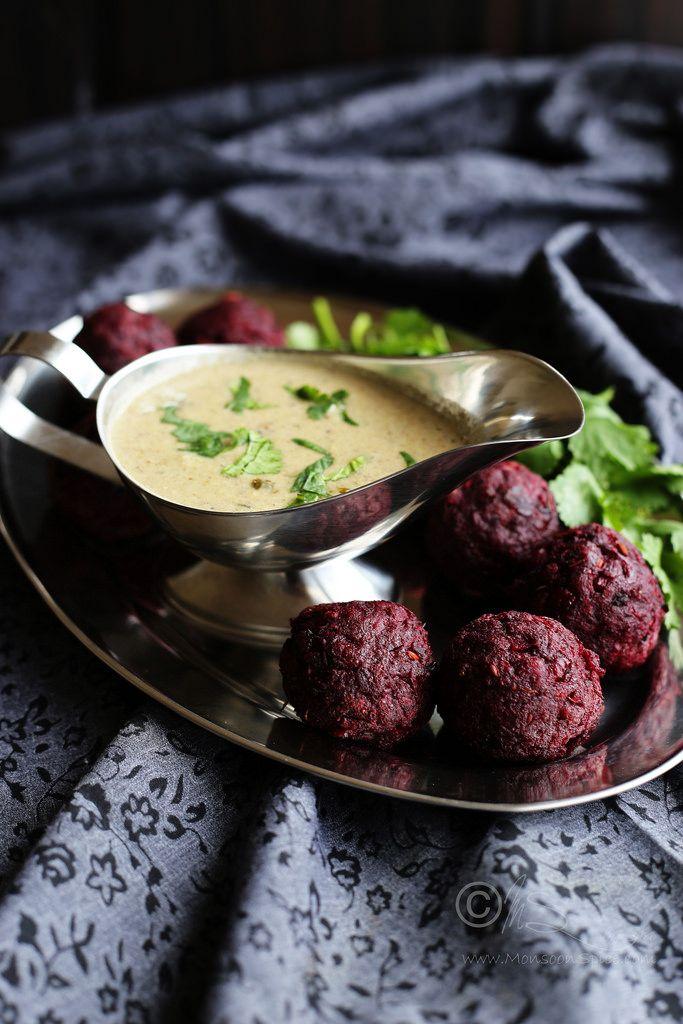 Monsoon Spice   Unveil the Magic of Spices...: Vegan Beetroot Kofta Curry Recipe   Mughali Style Vegan Beetroot Kofta Recipe