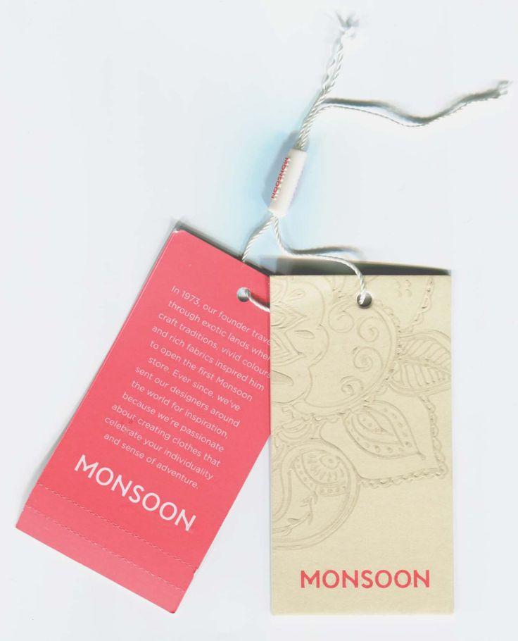 Monsoon swing tag