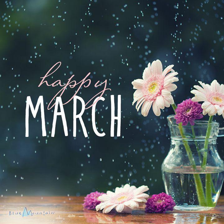 march happy quotes hello months month birthday seasons baby maerz hallo fun days bluemountain four born monatsbilder