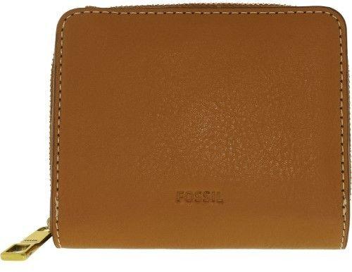 Fossil Women's Mini Emma Leather Rfid Wallet - Brown