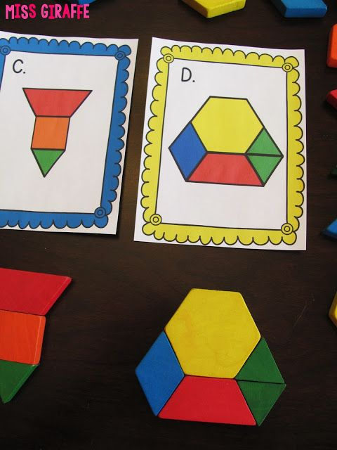 Preschool Shape Pattern Cards
